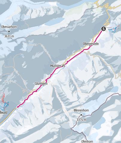 Map / Winter hiking on Rottenweg