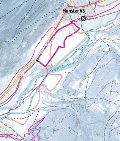 Map / Circular trail Münster airfield