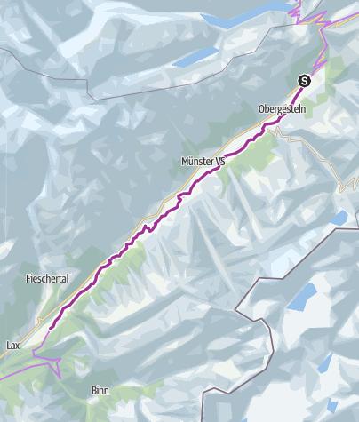 Karte / Fahrradgenuss auf dem Rottenweg