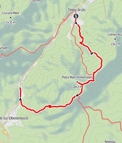Map / Klasszikus Nagy-kő-havas-túra, jan 6