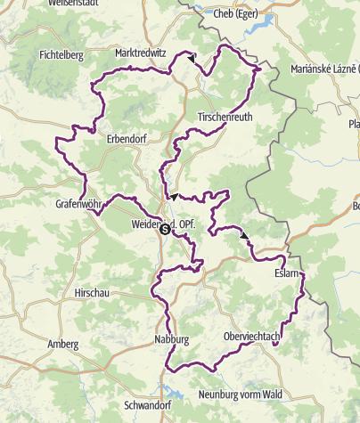 Map / Auf den Spuren der Leuchtenberger