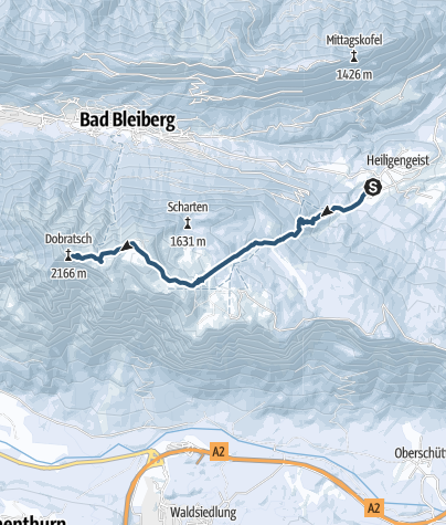 Karte / Dobratsch