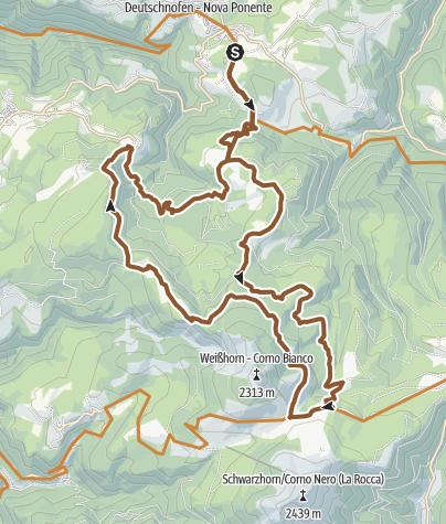 Map / Weißhorn MTB Circuit