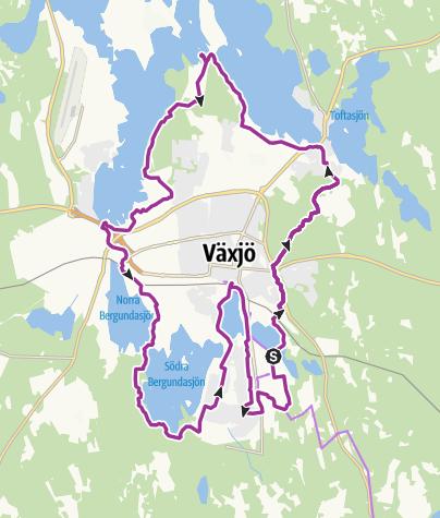 Mapa / Växjö Rund