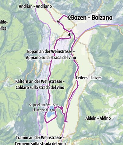 Cartina / Bozen > Kalterer See