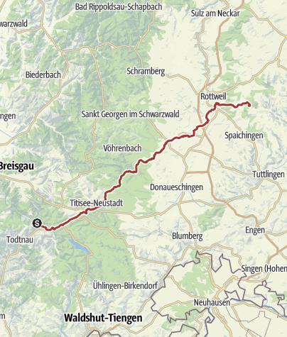 Karte Schwarzwald Zum Ausdrucken.Schwarzwald Alb Trail Aua In D Fiaß Themenweg Outdooractive Com