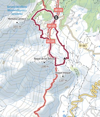 Karte / 26. Januar 2018 Rundwanderung ab Ifonche