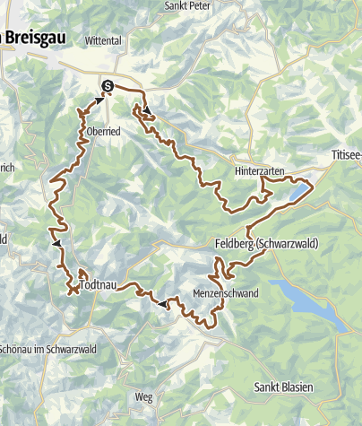 Map / ULTRA | 109 km | Black Forest ULTRA Bike Marathon
