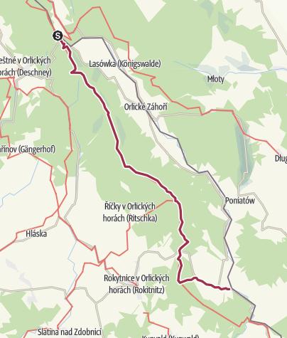 Karte / Šerlich - Bartošovice