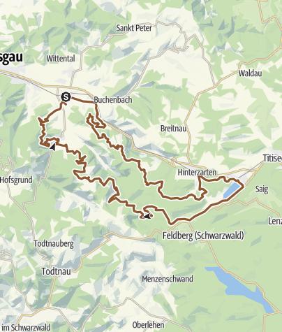 Map / MARATHON   75 km   Black Forest ULTRA Bike Marathon
