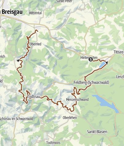 Map / POWER TRACK   80 km   Black Forest ULTRA Bike Marathon