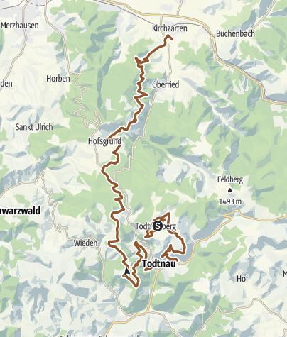 Map / SPEED TRACK | 52 km | Black Forest ULTRA Bike Marathon