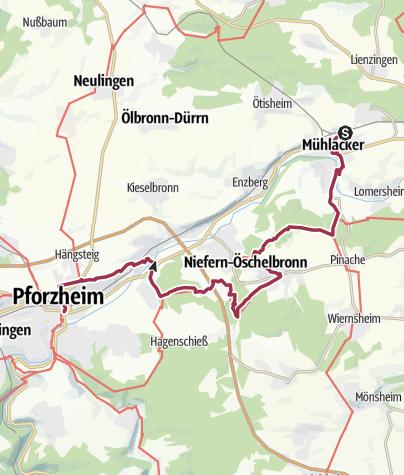 Map / AbseitzTour am 11.03.2018
