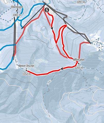 Map / Parkplatz Distelpiste - Kl. Ötscher