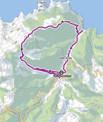 Map / Test tour