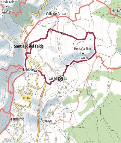 Karte / almond blossom route