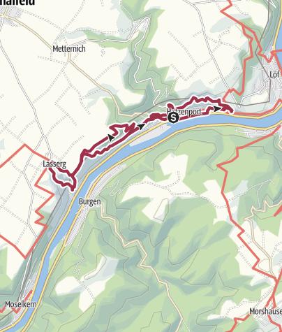 Karte / WeinWetterWeg / Hatzenport