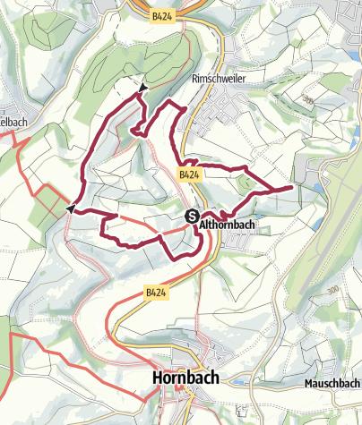 Mapa / Spürnasenweg