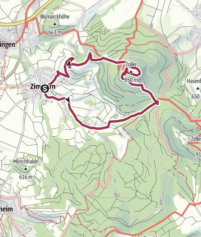 Hohenzollern Runde Wanderung Outdooractive Com