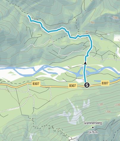 Map / Canyoning Wanderung Staffelgraben