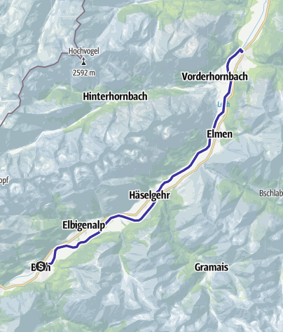 Map / Wildwasser Genuss auf dem Lech