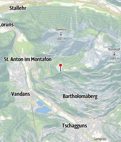 Karte / 16. Station: Rellseck, prähistorische Siedlungsgeschichte (Bergknappenweg)