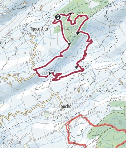 Map / 19. Februar 2018 El Cielo Mandelblüte ab Tijoco Alto