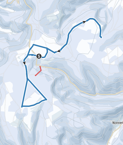 Map / 2018-02-18-Langlauf Kaltenbronn-Schwarzwald