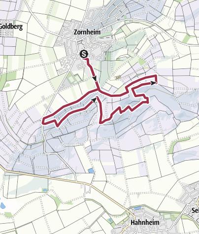 Karte / RHH 29: Zornheimerberg