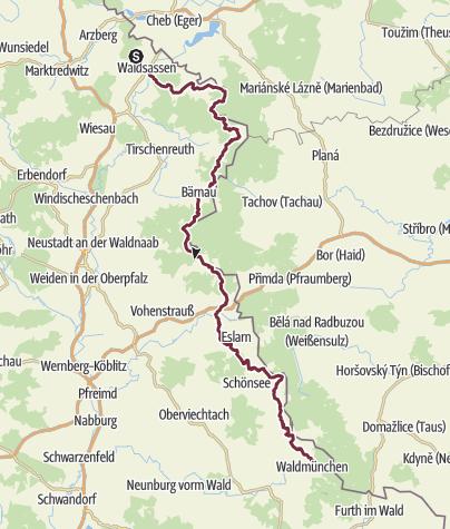 Map / Goldsteig - Alternativweg 1