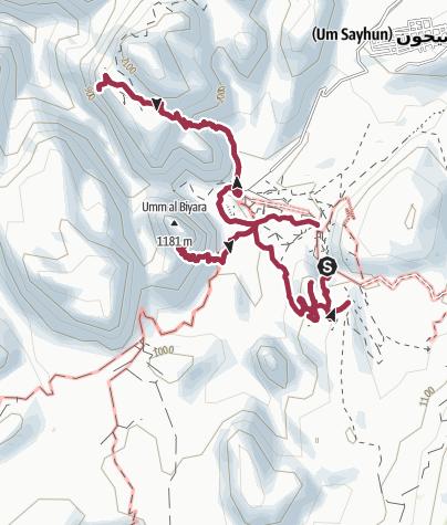 Karte / Petra Rundtour 5h