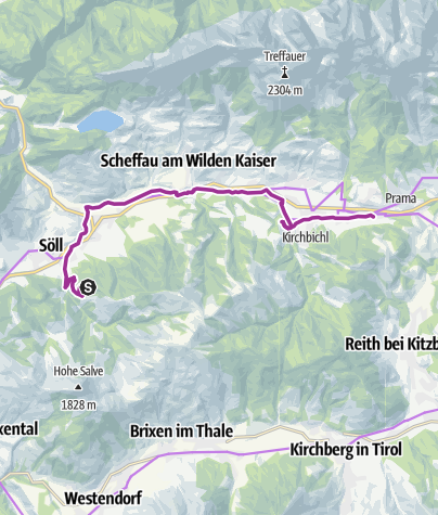 "Map / Bergdoktor e-bike tour ""From the village square via the doctor's practice to the Gruberhof"""