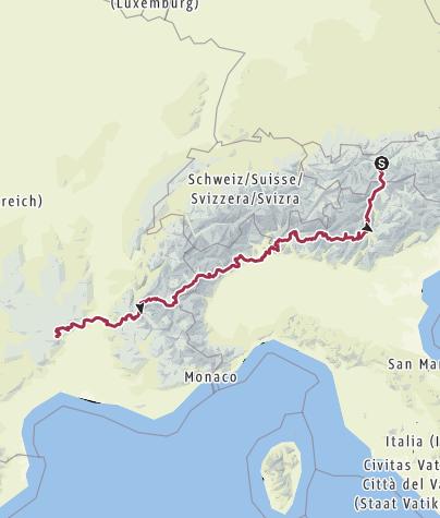 Karte / Innsbruck-Altier