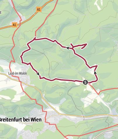 Mapa / Schlucker Höhe
