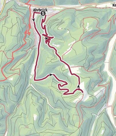 Karte / Dennbachtal