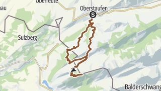 Karte / Oberstaufen - Hoher Häderich