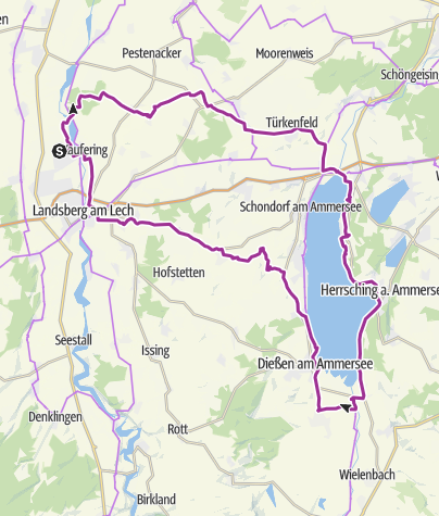 Karte / Ammersee (Ost) - Runde