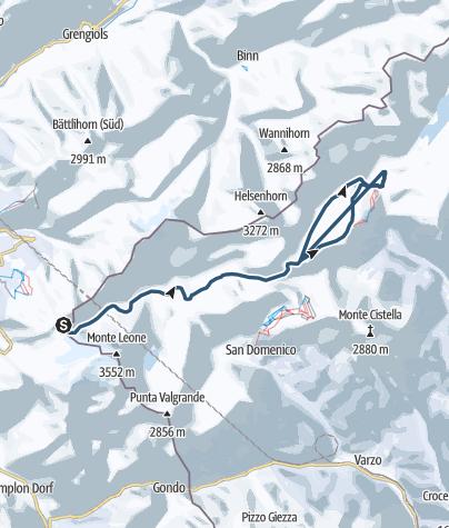 Karte / Tour Soleil-2