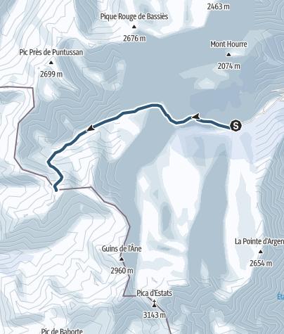 Carte / A faire : Pic Bourgat