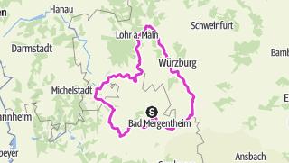 Map / Verbundener Rad-Achter