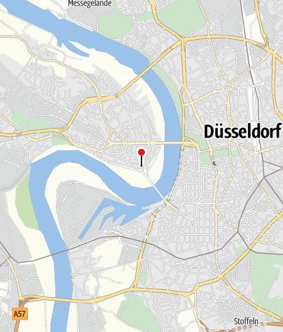 Karte / Jugendherberge Düsseldorf