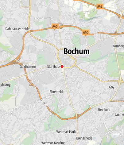 Bochum Karte.Jugendherberge Bochum Herberge Hostel Outdooractive Com