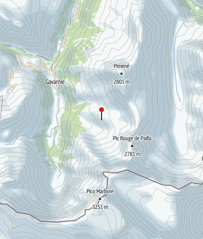 Karte / Refuge des Espuguettes (2.027 m)