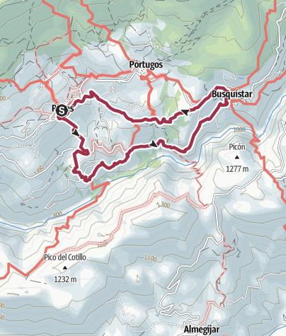 מפה / Bruckmann Tour 30 Weiße Dörfer