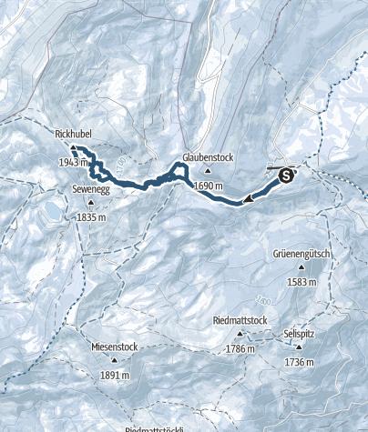 Karte / Rickhubel
