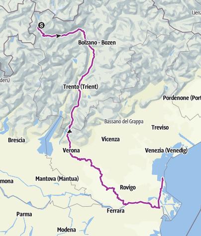Karte / Tourenplanung am 17.Mai 2018