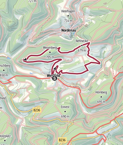 Karte / Westfeld - Runde