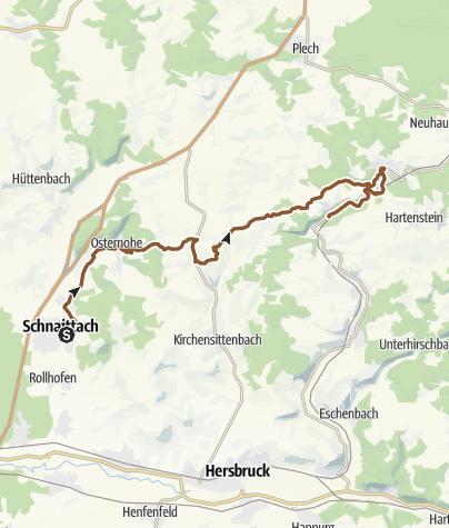 Map / VGN: Hohenstein Hammer