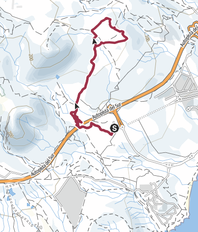 Karte /  11. April 2018 Abschlusswanderung der Saison 2017/18 ITER HÖHLEN