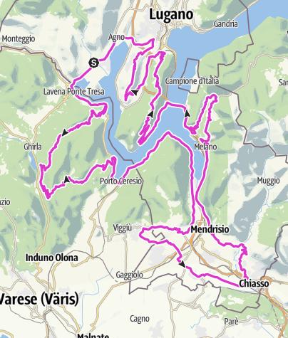 Karte / 7_salite_giro_lago_lugano